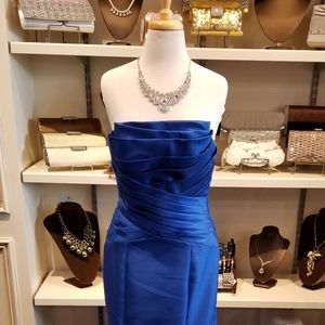 Tony Bowls Royal Blue Formal Dress